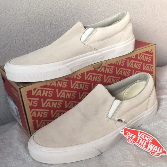 3e17b4ef15 vans slip on Pinked Suede Silver Lining